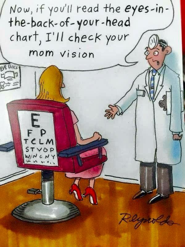 mothers day eye doctor joke