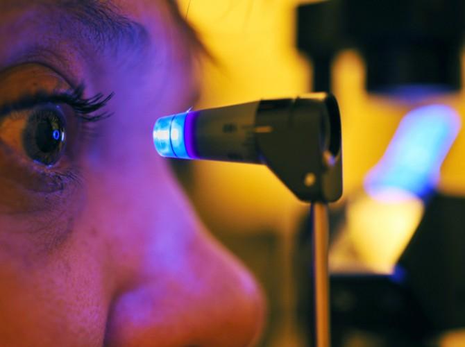 eye pressure test