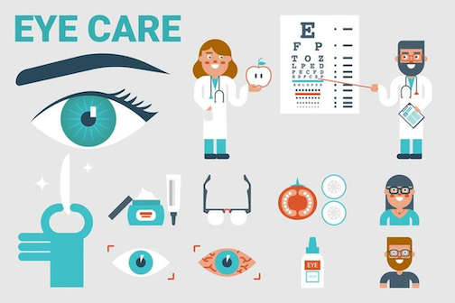 eye care graphics