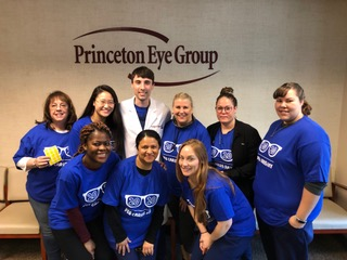 Princeton Eye Group supports the community