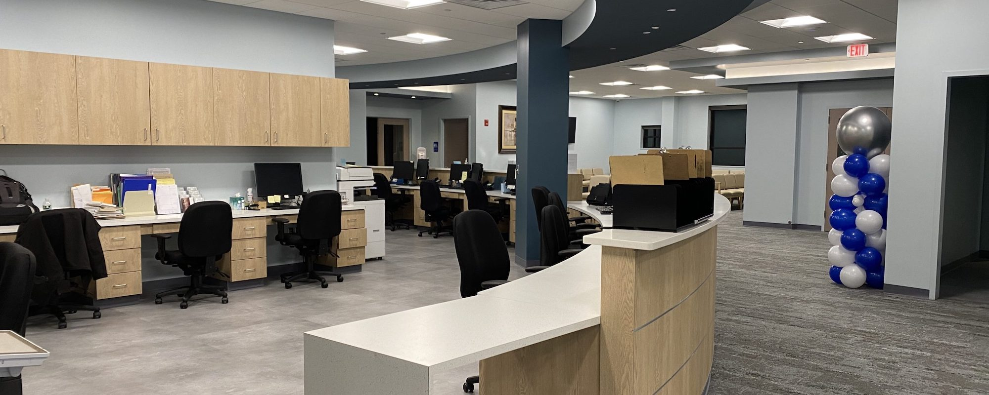 Monroe Twp office at 298 Applegarth Rd is open